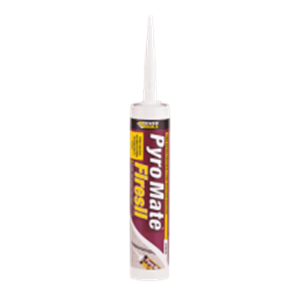 Everbuild Pyromate Firesil White,310ml