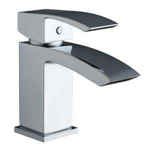 Descent - Single Lever Tall Heavy Designer Basin Monobloc