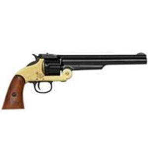 Smith & Wesson 6 Shot Revolver In Black & Solid Brass Finish 1869 - G1008L