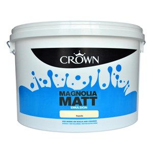 Crown,Matt Emulsion,Magnolia,7.5 Ltr