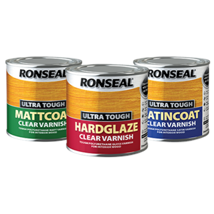 Ronseal,Ultra Tough,Clear Varnish,