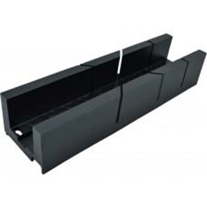 Cent' Mitre Box Black Plastic
