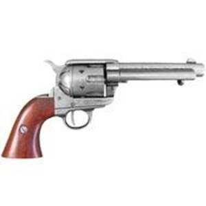 Colt Peacemaker With Wooden Handle,Gun Metal Finish - G1106/G