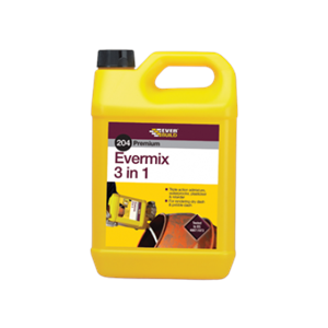 Everbuild 204 Evermix 3 In 1  5 Ltr