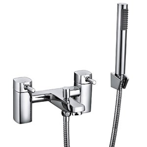 Forme - Square Block Cube Bath Shower Mixer