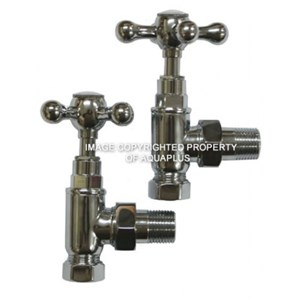 Traditional Angled Radiator Valves